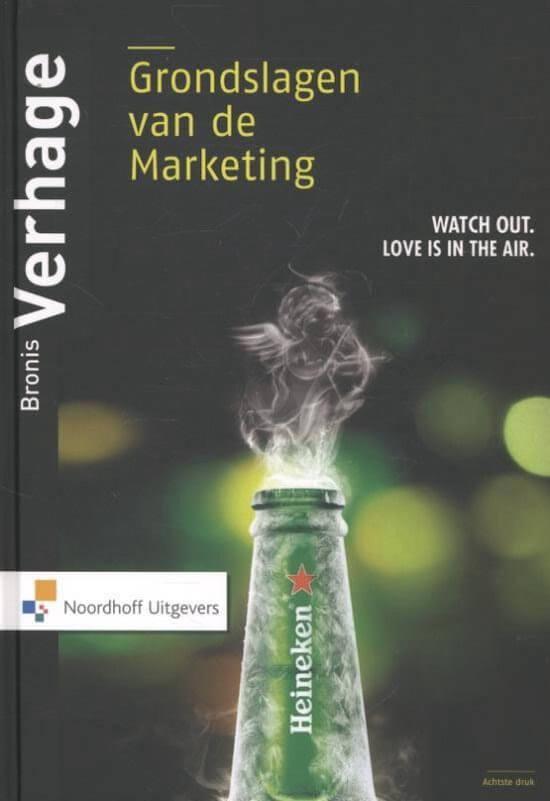 Marketingboek: Grondslagen van de marketing