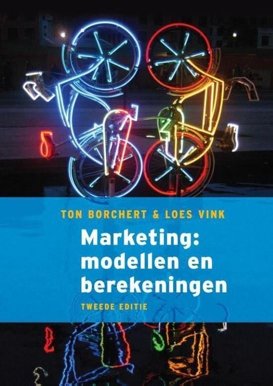Marketingboek: Marketing modellen en berekeningen