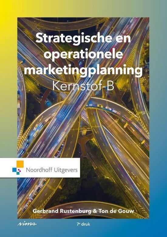Marketingboek: Strategische en operationele marketingplanning